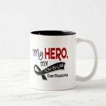 Melanoma Skin Cancer MY HERO MY SON-IN-LAW 42 Two-Tone Coffee Mug
