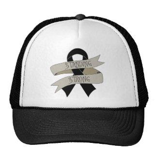 Melanoma Standing Strong Trucker Hat