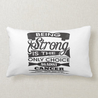 Melanoma Strong is The Only Choice Throw Pillow