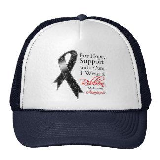 Melanoma Support Hope Awareness Trucker Hat