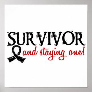 Melanoma Survivor 18 Posters