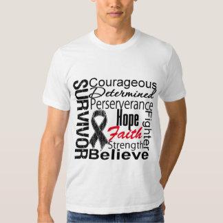 Melanoma Survivor Collage Shirt