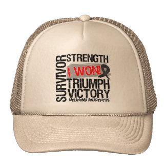 Melanoma Survivor I Won Trucker Hat
