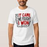 Melanoma Survivor It Came We Fought I Won T Shirt