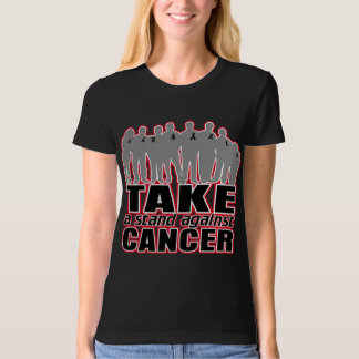 Melanoma -Take A Stand Against Cancer Tshirts
