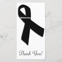 Melanoma Thank You Card