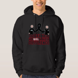 Melanoma Together We Will Make A Difference.png Hoodie