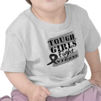 Melanoma Tough Girls Fight Strong Tshirt