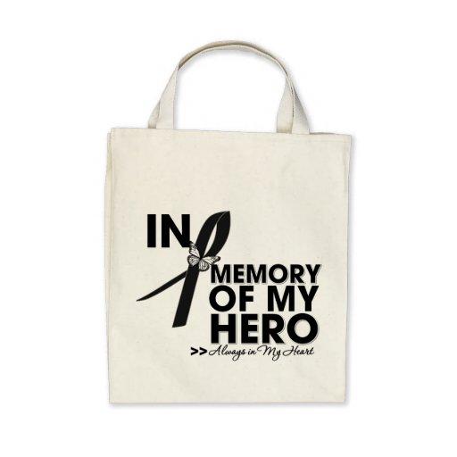 Melanoma Tribute In Memory of My Hero Bag