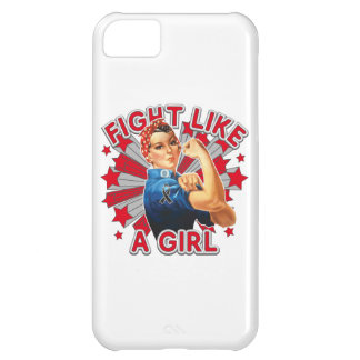 Melanoma Vintage Rosie Fight Like A Girl iPhone 5C Cases
