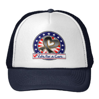 Melanoma Vote For a Cure Trucker Hat