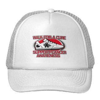Melanoma Walk For A Cure Trucker Hat