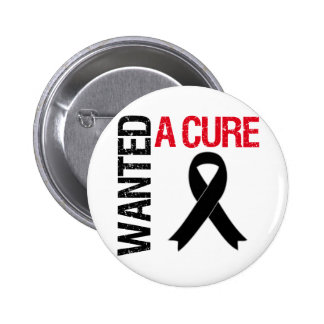Melanoma Wanted A Cure Pinback Button