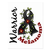 Melanoma Warrior 15 Postcard