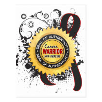 Melanoma Warrior 23 Postcard