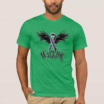 Melanoma Warrior Men's Poly-Cotton Blend T-Shirt