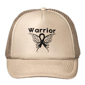 Melanoma Warrior Tribal Butterfly Trucker Hat