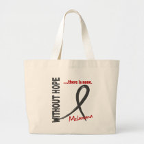 Melanoma Without Hope 1 Large Tote Bag