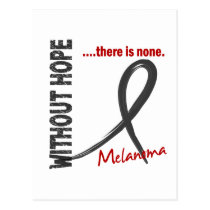 Melanoma Without Hope 1 Postcard