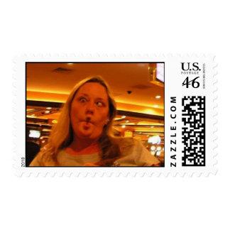 Melany Postage Stamp