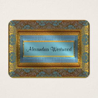 Melarks Elegant Iv Victorian Business Card at Zazzle