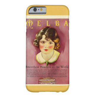 Melba Face Powder Ad 1926 vintage Barely There iPhone 6 Case