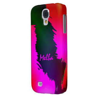 Melba's Green and Pink Samsung Galaxy S4 case