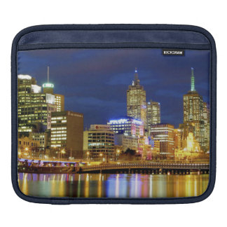 Melbourne Australia A nighttime view of the 2 Sleeves For iPads