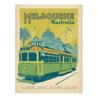 Melbourne, Australia - carretilla Tarjetas Postales