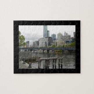 Melbourne Australia Jigsaw Puzzle