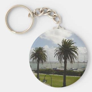 Melbourne Australia Llavero Redondo Tipo Pin
