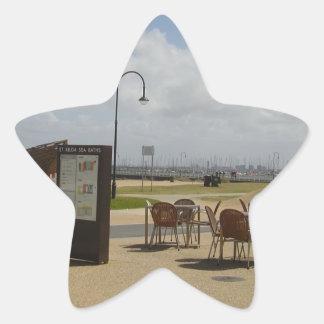 Melbourne Australia Pegatina En Forma De Estrella