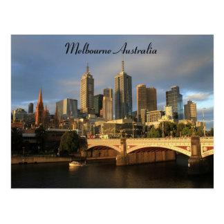 Melbourne Australia Postcard
