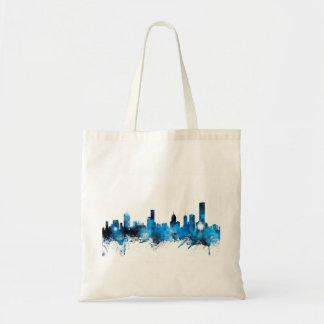 Melbourne Australia Skyline Tote Bag