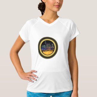 Melbourne Australia Skyline with City Lights T-Shirt