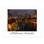 Melbourne, Australia Tarjeta Postal