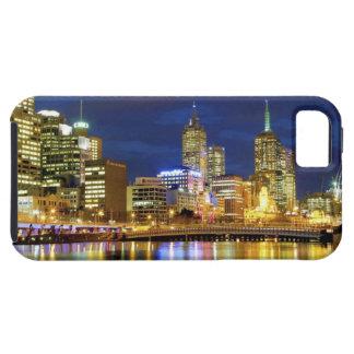 Melbourne Australia Una opinión de la noche de l iPhone 5 Cárcasas