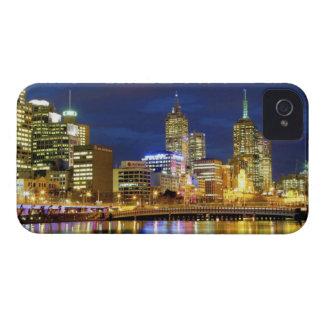 Melbourne Australia Una opinión de la noche de l