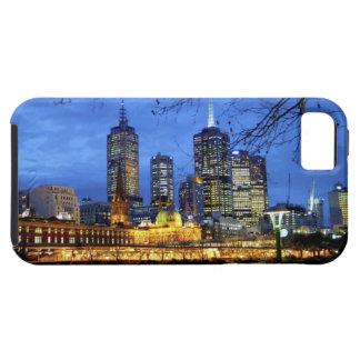 Melbourne Australia Una opinión de la noche del iPhone 5 Case-Mate Cárcasa