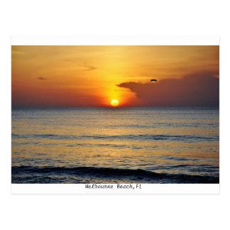 Melbourne Beach,Florida Sunrise Postcard