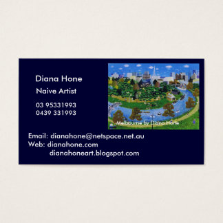 Melbourne by Diana Hone Business Card