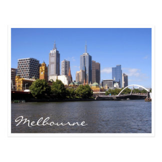 melbourne city sunshine postcard