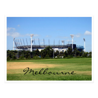 melbourne cricket ground postcard