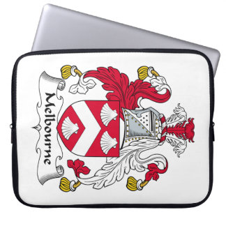 Melbourne Family Crest Laptop Sleeves