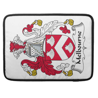 Melbourne Family Crest MacBook Pro Sleeves