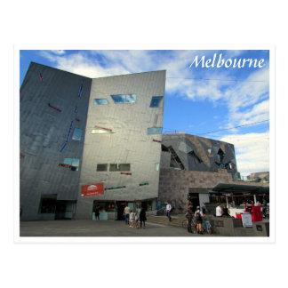 melbourne fed square postcard