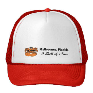 Melbourne, Florida Crab Trucker Hat