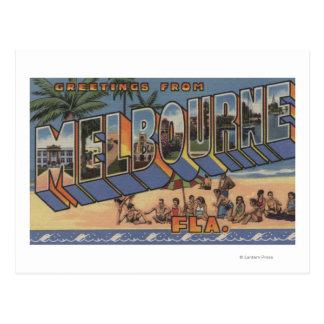 Melbourne, la Florida - escenas grandes de la Postales