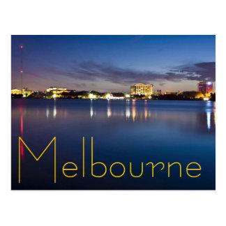 Melbourne, la Florida, los E.E.U.U. Tarjeta Postal