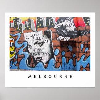 Melbourne Lanes 2 Poster